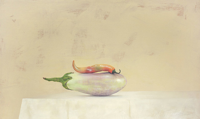 , 'Brinjal and Chilli,' 2015, Galerie Huit