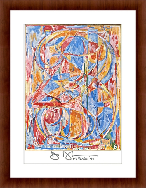 Jasper Johns, 'Zero through Nine (Hand Signed and Dated)', 1981, Alpha 137 Gallery Auction