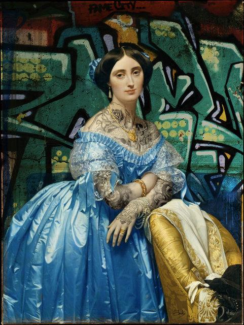 , 'Princesse De Broglie,' 2017, Klein Gallery