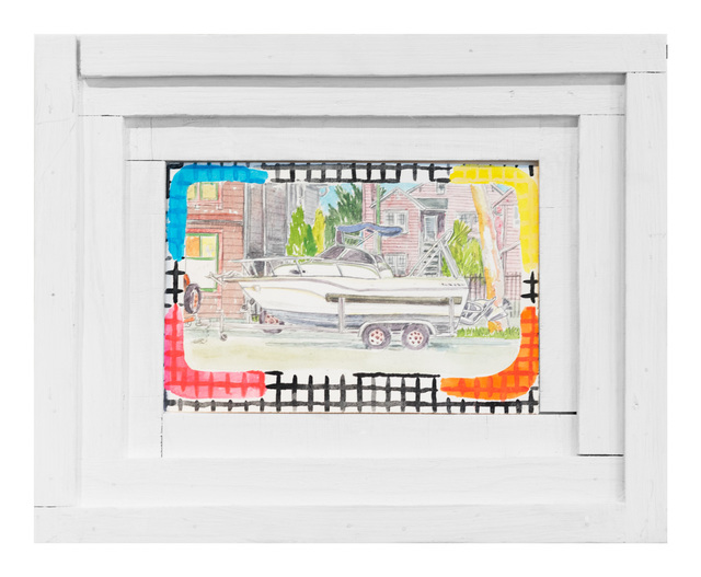 , 'Street Boat 2,' 2017, Gallery 16