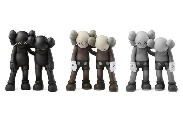 KAWS, 'Along the Way (set of 3)', 2019, Sculpture, Vinyl, Lougher Contemporary Gallery Auction
