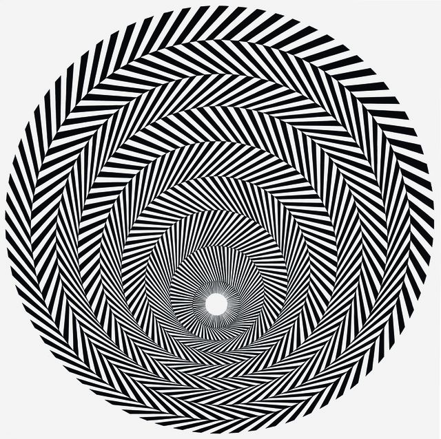 Bridget Riley, 'Blaze 4', 1964, Louisiana Museum of Modern Art