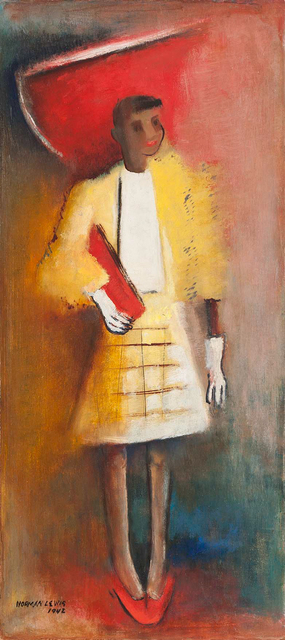 , 'Untitled (Woman in Red Hat),' 1942, Michael Rosenfeld Gallery