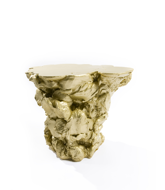 , 'Side table 'Rubber' Gold,' 2007, Machado - Muñoz