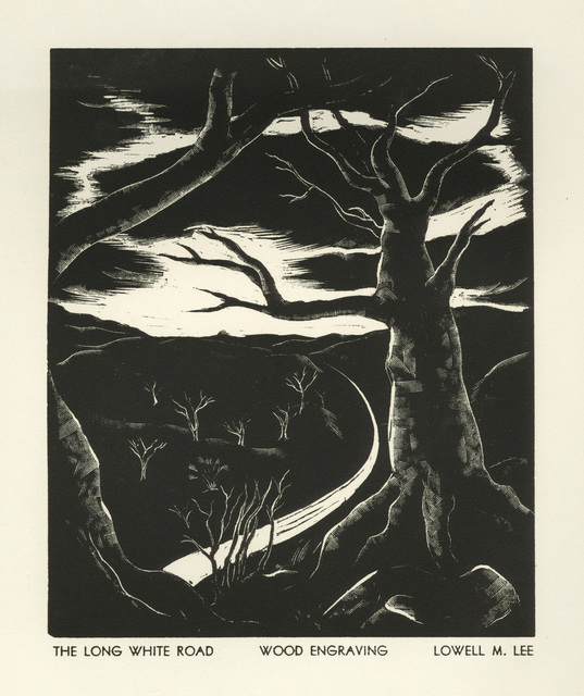 Lowell Merrit Lee, 'The Long White Road', 1936, David Barnett Gallery