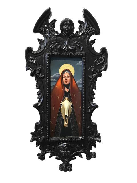 , 'Dark Horse,' 2017, La Luz de Jesus Gallery