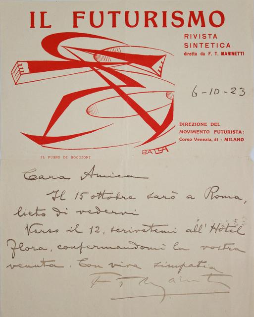 Giacomo Balla, 'Il Futurismo (3)', 1915-1923, Studio Mariani Gallery