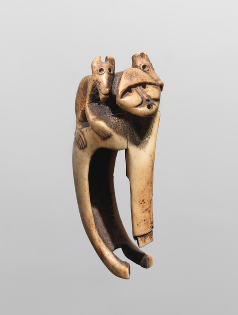 Anonymous Chinookan, likely Multonomah artist, 'ADZE HANDLE (CN4313-128)', Donald Ellis Gallery