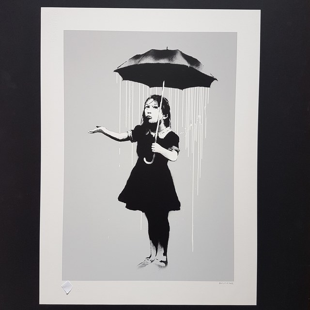 Banksy, 'Nola White Rain', 2008, Castle Gallery