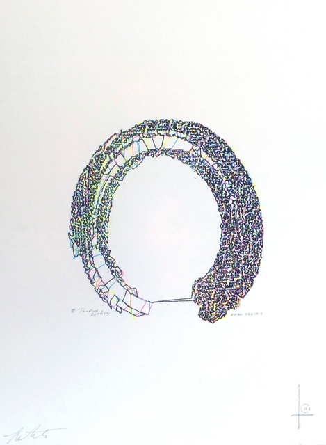 Patrick Lichty, 'Enso (Circle)', 2015, DAM Gallery