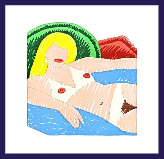 Tom Wesselmann, 'Shiny Nude (Stealingworth, 33)', 1977, Alpha 137 Gallery Auction