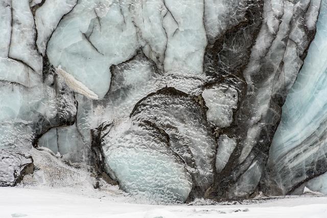 , 'Glacier Front, Paulabreen (glacier), Rindersbukta Rinders Bay, Svalbard (Spitsbergen), Norway,' 2015, Garvey | Simon