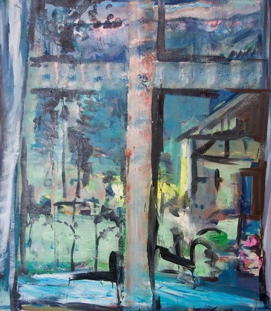 Ernst Gradischnig, 'Das Abendfenster (Evening window)', 2014, Galerie Lehner