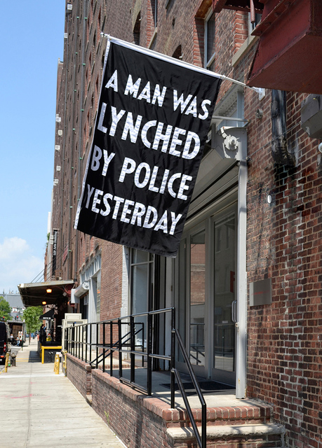 Dread Scott, 'A Man Was Lynched by Police Yesterday', 2017, Rush Philanthropic Arts Foundation Benefit Auction