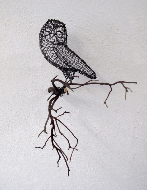 , 'Rogers Almost Perfect Owl,' 2018, Talley Dunn Gallery