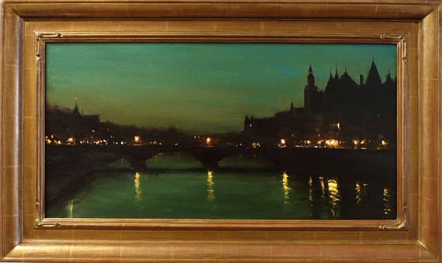 Jesse Powell, 'Paris No. 1', 2018, Painting, Oil on Linen, ARCADIA CONTEMPORARY