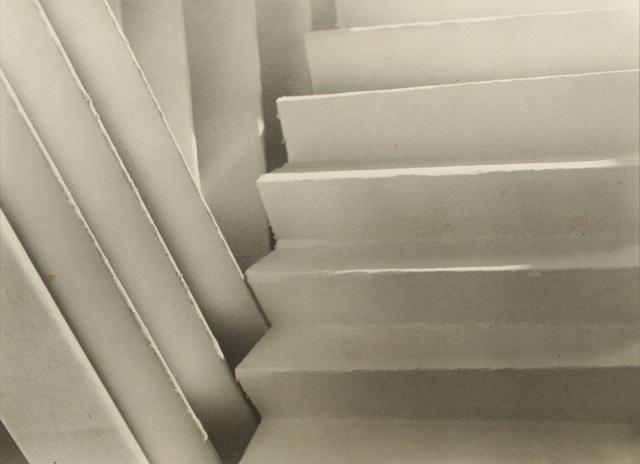 Jaromír Funke, 'Cut Paper', c. 1923, Photography, Warm toned gelatin silver print, Bruce Silverstein Gallery