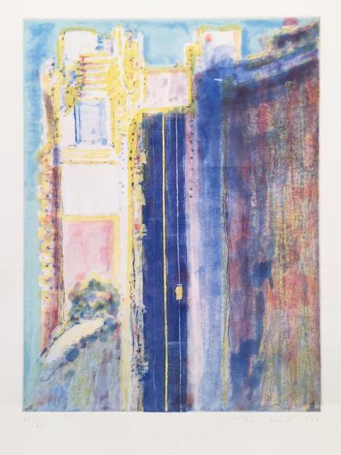 , 'City Edge,' 1988, Leslie Feely