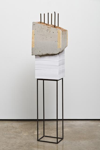 , 'White Lies 7,' 2017, Lora Reynolds Gallery