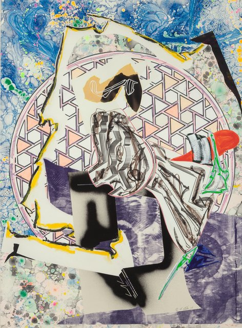 Frank Stella, 'The Great Heidelburgh Tun, from the Waves series', 1988, Heritage Auctions
