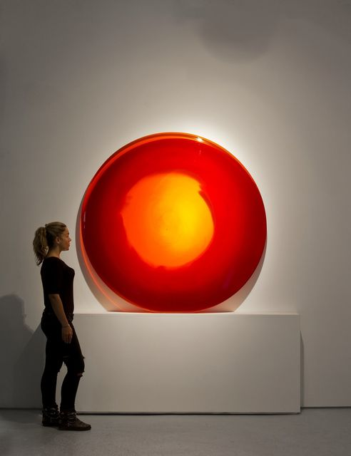 , 'Red Sun Disc,' , Inception Gallery