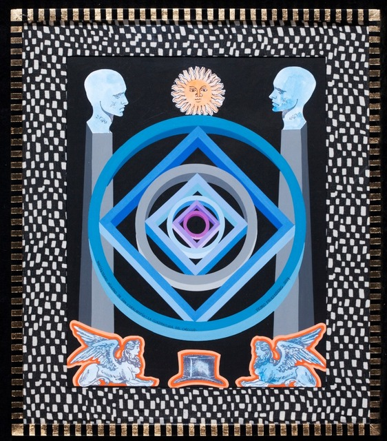, 'Diecisieteavo milagro de San Caralampio: la cuadratura del círculo,' 2014, GALERÍA ETHRA