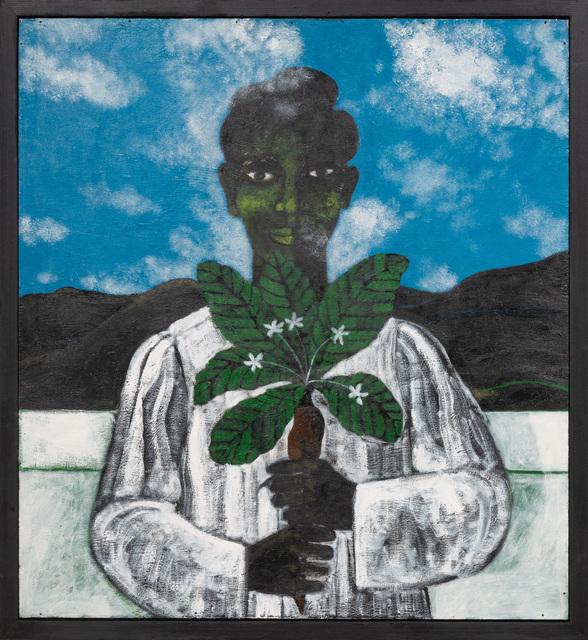 Abe Odedina, 'Osanyin', 2018-2019, Painting, Acrylic on plywood, Ed Cross Fine Art