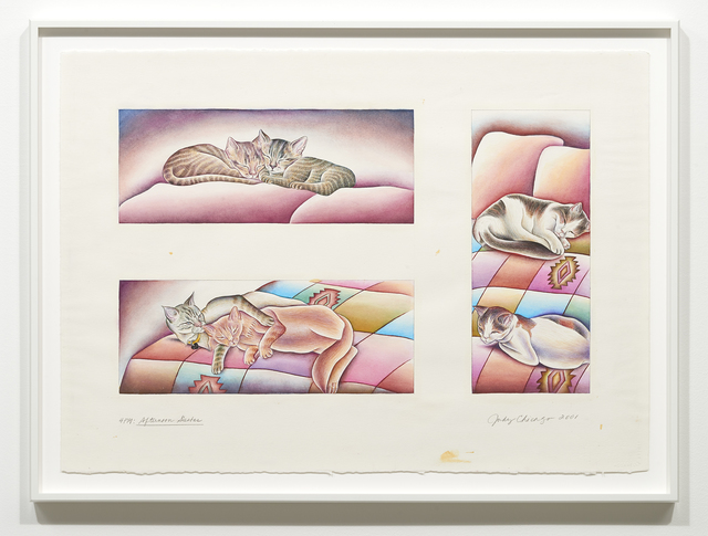 Judy Chicago, '4PM - Afternoon Siesta', 2001, Jessica Silverman Gallery