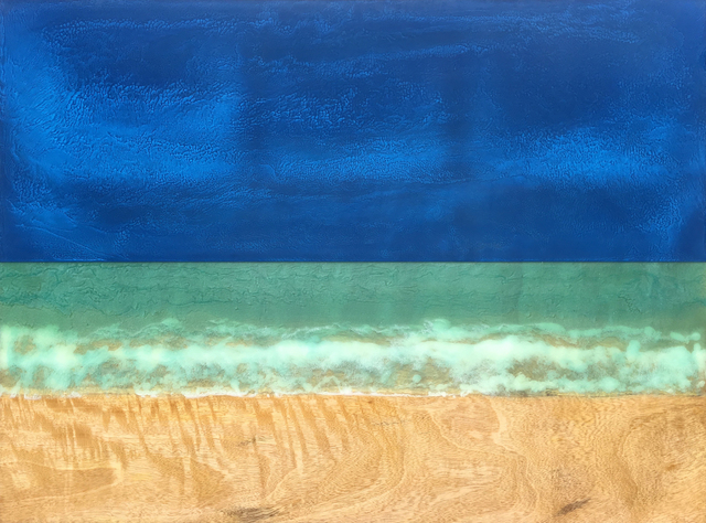 Timothy Allan Shafto, 'Relaxing in the Sand 30x40', 2018, Tiffany's Art Agency