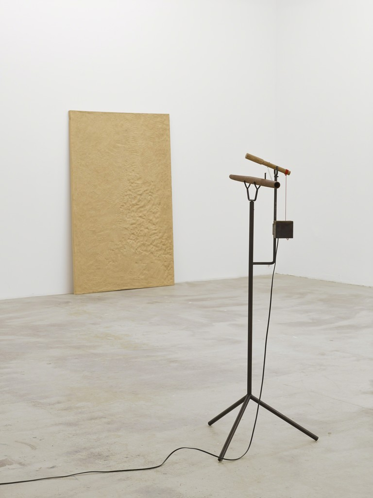 Riveted, 2013, exhibition view at Klemm's, Berlin
