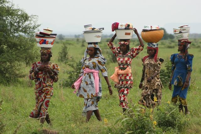 , 'Market Merchants (Nigeria),' 2009, ACS GALLERY