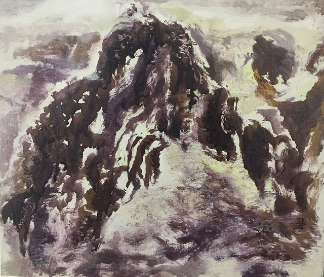 , 'Seashore Mountain Range, Hualien,' 2012, Yuan Ru Gallery