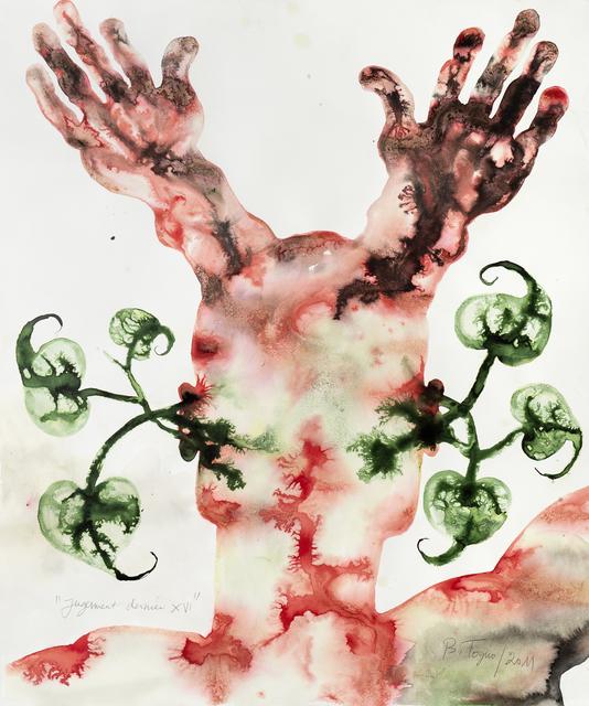 Barthélémy Toguo, 'Jugement dernier XVI', 2011, Galerie Lelong & Co.