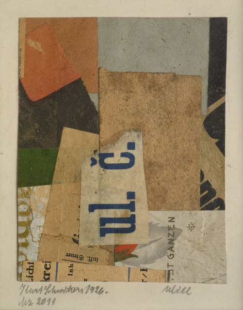Kurt Schwitters, 'Mz 2011 Ulice', 1926, Galerie Natalie Seroussi