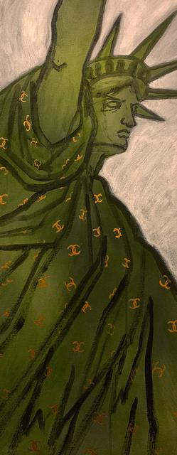 , 'Liberty Chanel,' 2016, Pleiades Gallery