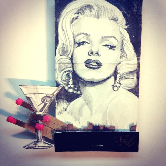 matchbox artists, 'Marilyn', 2015, Muriel Guépin Gallery