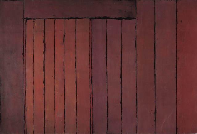 , '[Palissade],' 1974, Galerie Faider