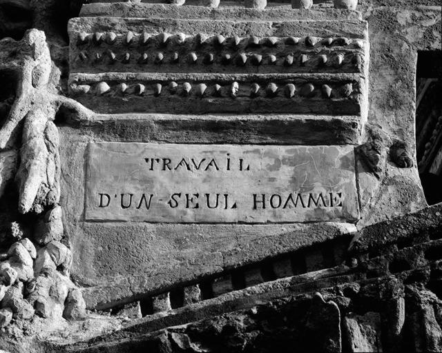 , 'Tombeau de Ferdinand Cheval 30-06,' 2013, Marcelle Alix