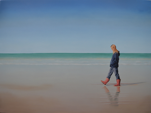 , 'Moça na praia,' 2015, dconcept escritório de arte