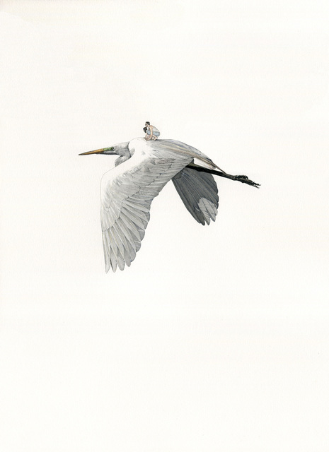 , 'Heron,' 2017, Michel Soskine Inc.