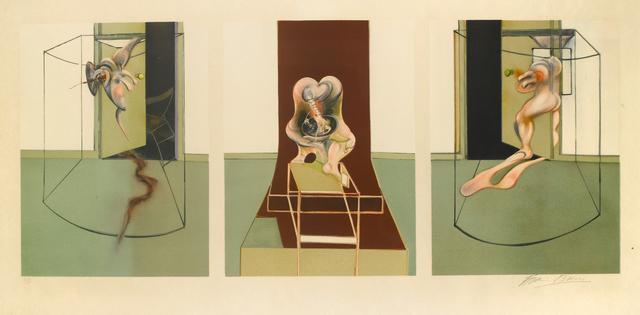 , 'L'Orestie d'Eschyle (Triptych),' 1981, Galerie Raphael