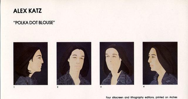 Alex Katz, 'Ada Four Times: set of four prints', 1978-1979, Sragow Gallery