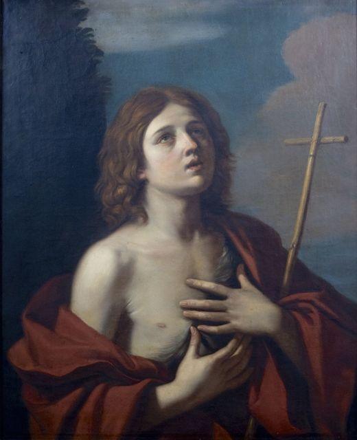 Attributed to Annibale Carracci, 'Adolescent Christ in his Essene Comunity or Saint John the Baptist. Circle of Annibale Carracci', ca. 1600, Muzeion Gallery