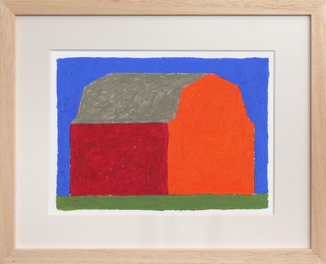 , 'Red Barn,' 2018, PUBLIC Gallery