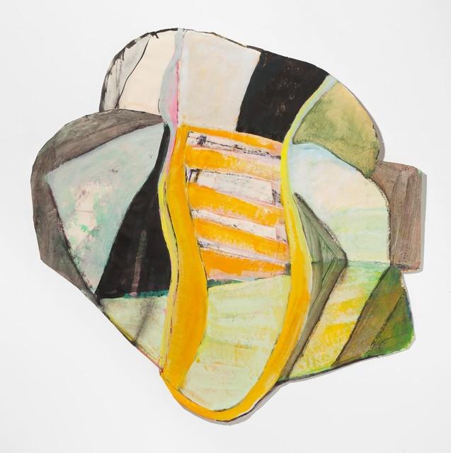Ellen Rich, 'Yellow Ladder', 2018, The Schoolhouse Gallery