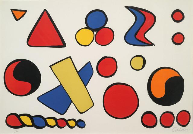 Alexander Calder, 'Alphabet et serpent', 1966, Kunzt Gallery