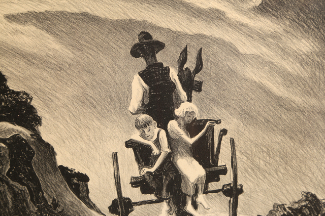 Thomas Hart Benton, 'Goin' Home ', 1937, Print, Lithograph on Rives BFK paper, RoGallery