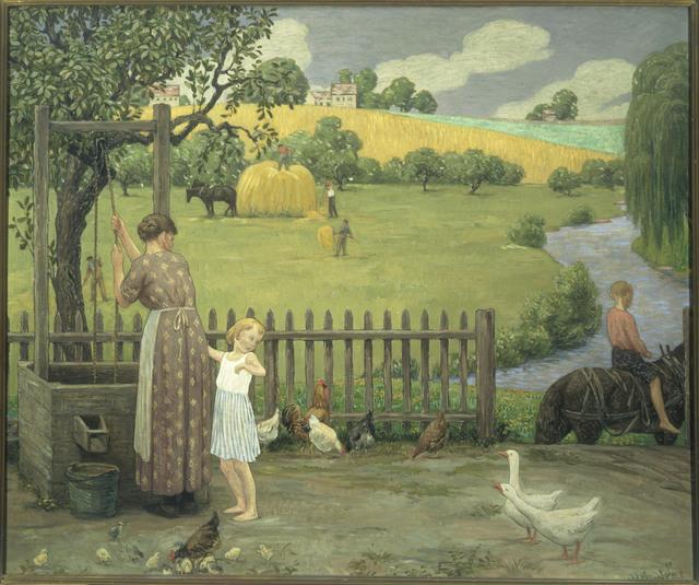 Bryson Burroughs, 'June', 1918, Phillips Collection