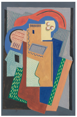 ", '""Composition"",' 1921, Jane Kahan Gallery"