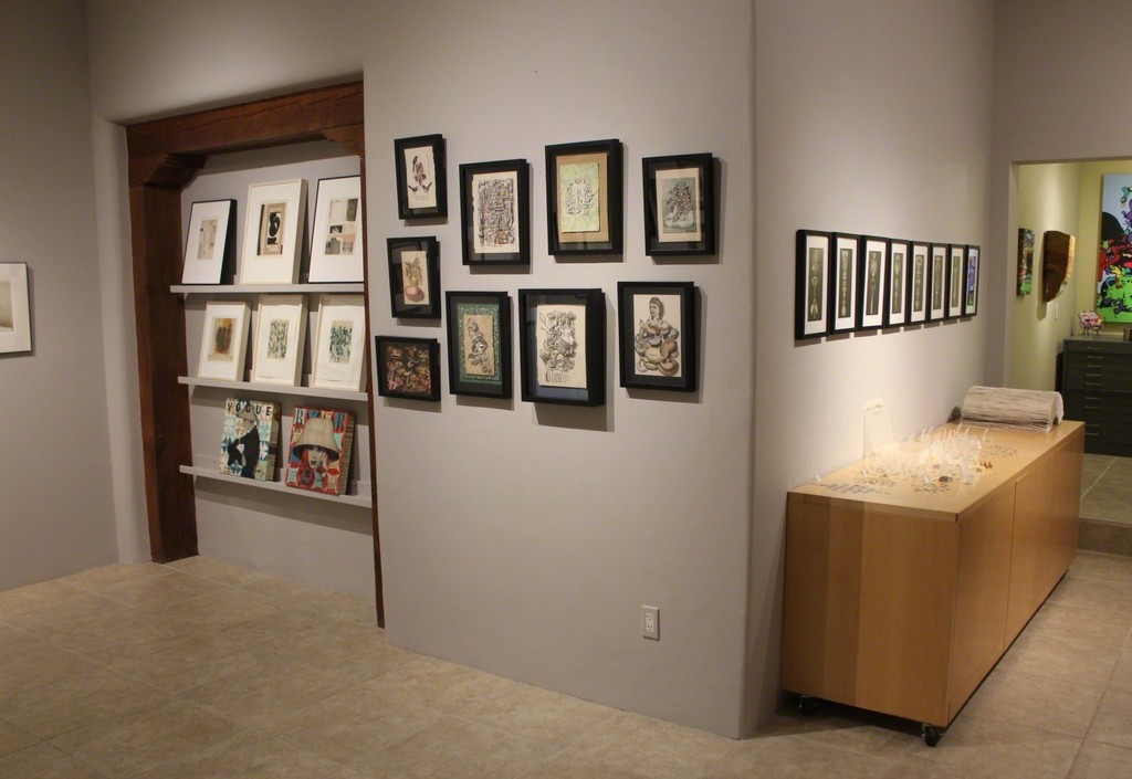 Installation shot for EXQUISITE CORPSE: The Surrealist Tendency in Collage